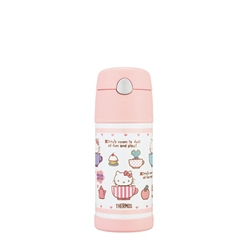 hello kittythermos 膳魔師保冷瓶_b2011系列_370ml